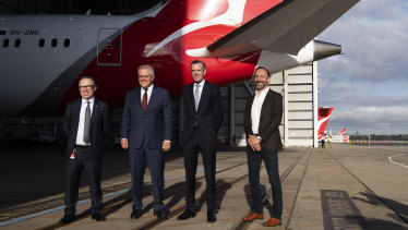 Qantas brings forward some international routes out of Sydney; 11,000 staff to return