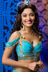 Shubshri Kandiah as Jasmine. Stunning, hey? Wait til you hear her sing.