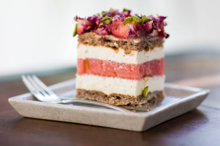 The watermelon cake at Black Star Pastry.