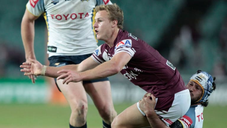 Baseless: Rumours of a rift between Daly Cherry-Evans and Johnathan Thurston are hurtful, says the Queensland legend.