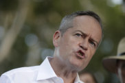 "Bill Shorten  says he will not be ""bullied"" on Adani."