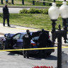 Driver, police officer dead after car rams US Capitol barricade