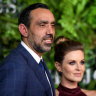 Adam Goodes and wife Natalie Croker welcome daughter Adelaide