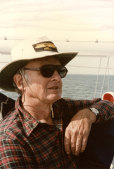 Professor Marvin Creamer sailed around the world without any navigation instruments.