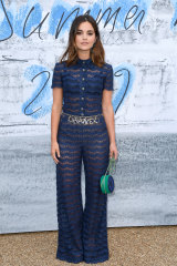 The 2020 Pantone Colour of the Year is 'classic blue', as worn by UK actor Jenna Coleman earlier this year.
