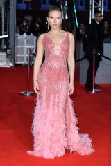Scarlett Johansson, at the BAFTAs, has been one of the most consistent dressers on the red carpet this awards season.