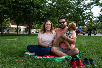 Martha Trevino and fiancé Juan Mendiola moved to Oakland County in Michigan because of the diversity of the community.
