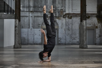 Josh Mu in the Sydney Dance Company's New Breed.