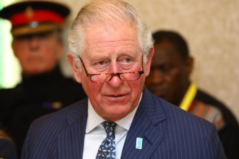 Prince Charles at the WaterAid event in London on Tuesday.