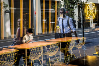 CBD restaurants are feeling the crisis the most since CBD workers are now working from home.