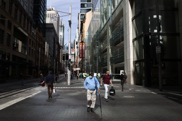 Public servants lead push to revive Sydney's CBD: 'We'll fight very hard'