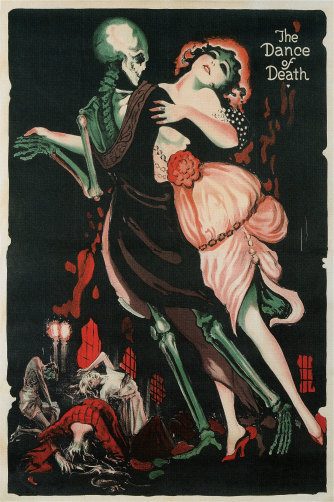 Poster of The Dance of Death from 1910s.