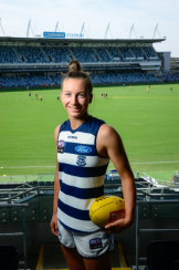 Dual sports star Sophie Van De Heuvel will play for Geelong.