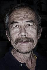 The Australian Museum's taxidermist, Mr Wang.