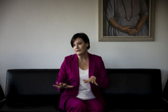 NSW Labor leader Jodi McKay in her Parliament House office.