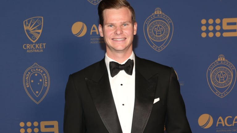 Steve Smith has won the Allan Border medal as Australia's top cricketer after a stellar Ashes campaign.