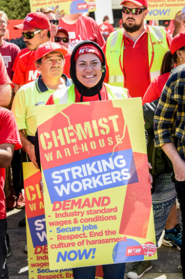 Stunning win for Chemist Warehouse workers on both wages and labour hire