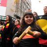 Treaty push during Melbourne march celebrating indigenous culture