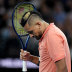 Nick Kyrgios lost the match but won plenty of admirers.