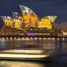 Sydney Opera House illuminates sails for bushfire relief