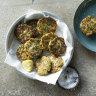 Effortlessly easy zucchini fritters plus three meat-free Greek recipes