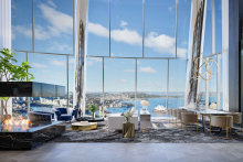 The growing number of ultra-rich Australians fuel demand for prime real estate like the Crown Residences at One Barangaroo in Sydney.