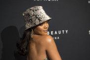 Rihanna can wear a bucket hat like no other