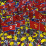 Flagging prosperity: North Korea moves on from displays of force