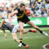 Richmond heading into orbit as Lynch and Riewoldt roar past Power