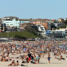 People on Bondi Beach win the selfish and stupid award