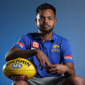 'Ready to go': Willie Rioli set to return after a two-year ban