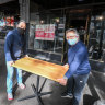 'Bang, on the phones': Lygon Street businesses firing up for COVID-normal shopping and dining