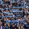 Fan quotas likely for Victory with crowds to be capped when A-League resumes