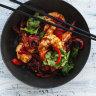 Neil Perry's spicy tamarind prawns
