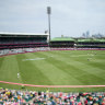 SCG to host up to 26,500 fans for BBL final