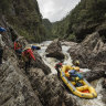 Rafting the Franklin, you're hemmed into another world