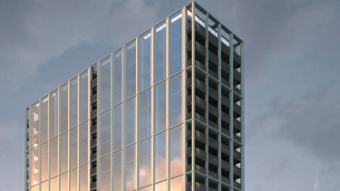 596 St Kilda Road has a development permit for a Bates Smart designed tower.