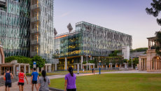 Queensland University of Technology's CBD campus where face-to-face lectures begin from July 20.