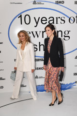 Sustainability champion Eva Kruse (left, with Princess Mary) is coming to VAMFF in March.
