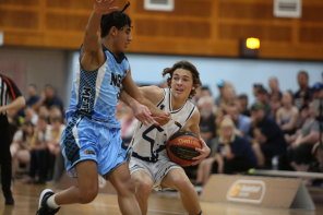 Vic Country boys are one of four Victorian sides denied the chance to play at the under-16 nationals in WA next month. Jet Kneebone is pictured playing for Vic Country at the 2019 event.