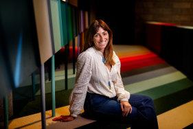Interior designer Danielle Brustman says colours are like people.