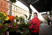 "Flowers Vassette florist Gaylene Pearce says Brunswick Street's character is ""precious and irreplaceable""."