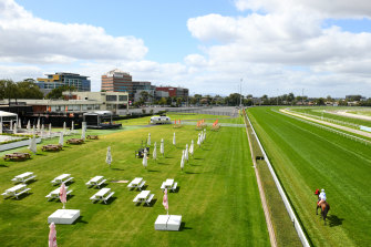 Crowds have been locked out of Victorian racetracks since All-Star Mile day.