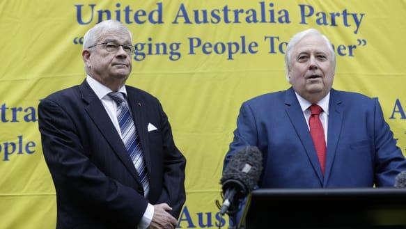 Politics Live: Former One Nation senator Brian Burston joins Clive Palmer's new party