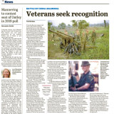 Veterans raised concerns about delay last month
