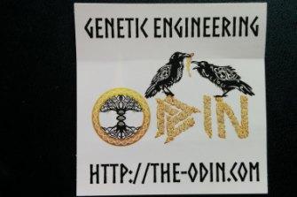 The ODIN sticker.