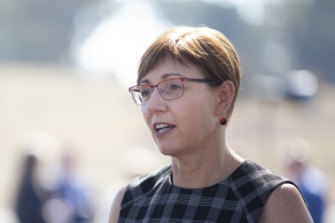 Employment Minister Rachel Stephen-Smith. A Commonwealth department has warned the ACT's incoming jobs code isn't compliant with federal legislation.