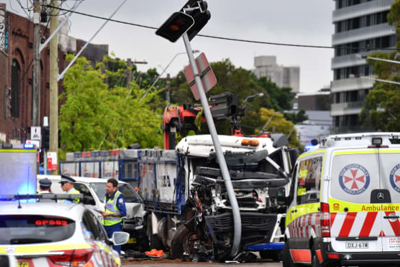 'Absolutely horrific': Truck driver suffered serious medical episode before fatal crash