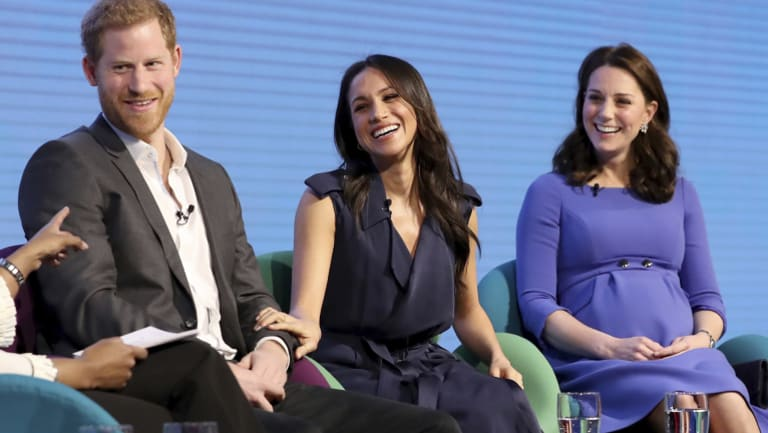Meghan Markle made her first working appearance as part of the so-called Fab Four.