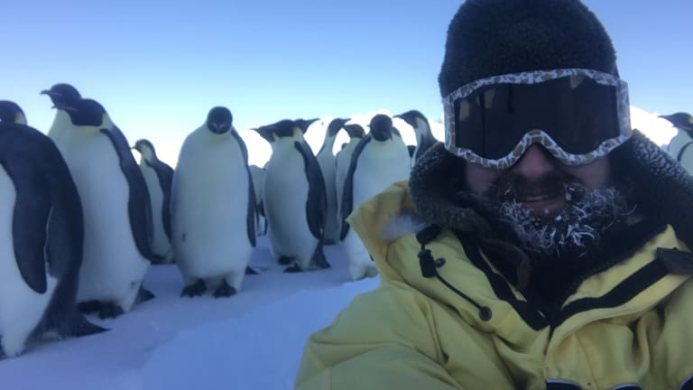 Alex Cameron, Mawson station expedition mechanic based in Antarctica.